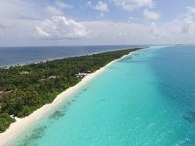 Insel Dhigurah, Malediven